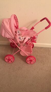 baby's pink and white stroller San Leandro, 94577