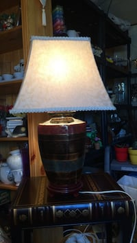 Table Lamp that would go with any Colour of Living Room Edmonton, T5Y