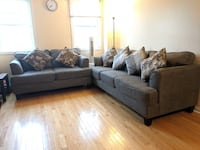 Fabric Sofas/Couches (3 Seaters & 2 Seaters - Cushions included) TORONTO