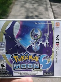 Pokemon Moon Nintendo 3DS game case Montreal, H3S 1T4