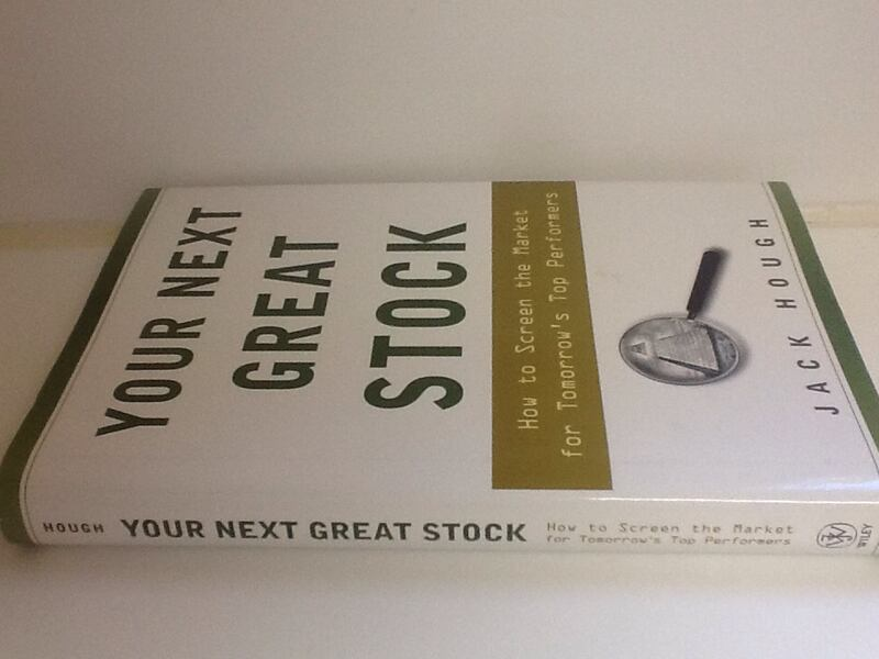YOUR NEXT GREAT STOCK Book - Jack Hough - Market M 65ec6292-a81d-4cee-bef5-fa418577db0c