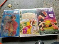three assorted Disney movie cases Richmond Hill, L4C 7X5