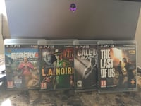 PS3 Games (Far Cry 4, L.A. Noire, The Last of US) New York, 10038