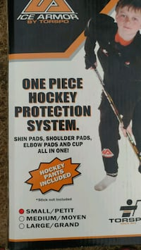 One piece hockey protection system Surrey, V3S 2N2