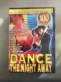 "New ""Ultimate Dance Class"" DVDs over 100 Dances ""Dance The Night Away"" Chesapeake, 23320"