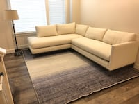 gray and white sectional couch Rockville, 20852