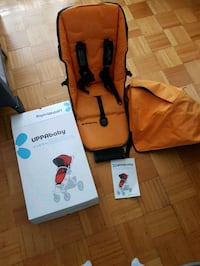 Uppababy Seat Fabric and Canopy