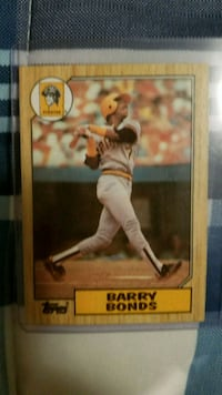 Barry Bonds Rookie Card Stanley, 28164