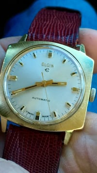 BEAUTIFUL SWISS MADE GOLD FILLED ELGIN MENS VINTAGE WATCH  MINT CONDITION, AUTOMATIC Tukwila, 98188