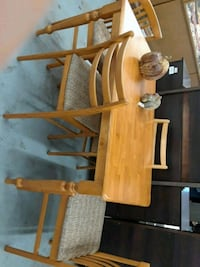 brown wooden table with chairs Houston, 77018