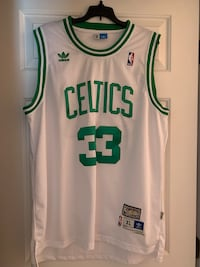 White and green adidas celtics 33 jersey Barnstable, 02601
