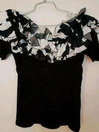 women's black and white dress Toronto, M2M 4B9