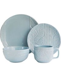 Bender 16 Piece Dinnerware Set By Mistana Color: Mist (NEW in BOX) (NW INDIANA LOCATION) Highland, 46322
