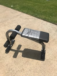 Used Adjustable sit up Bench. weight bench.