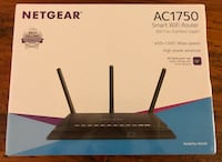 NETGEAR - AC1750 Dual-Band Wi-Fi Router - Black New York, 11220