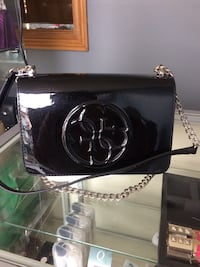 black patent leather crossbody bag Toronto, M9N 1V8