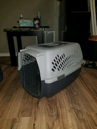 white and grey pet carrier! Germantown, 20874