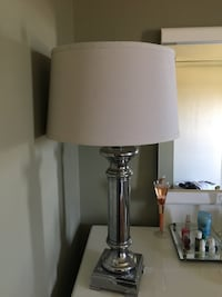 grey and white table lamp Ottawa, K4A