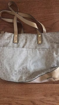 gray Michael Kors leather tote bag Rockville, 20850