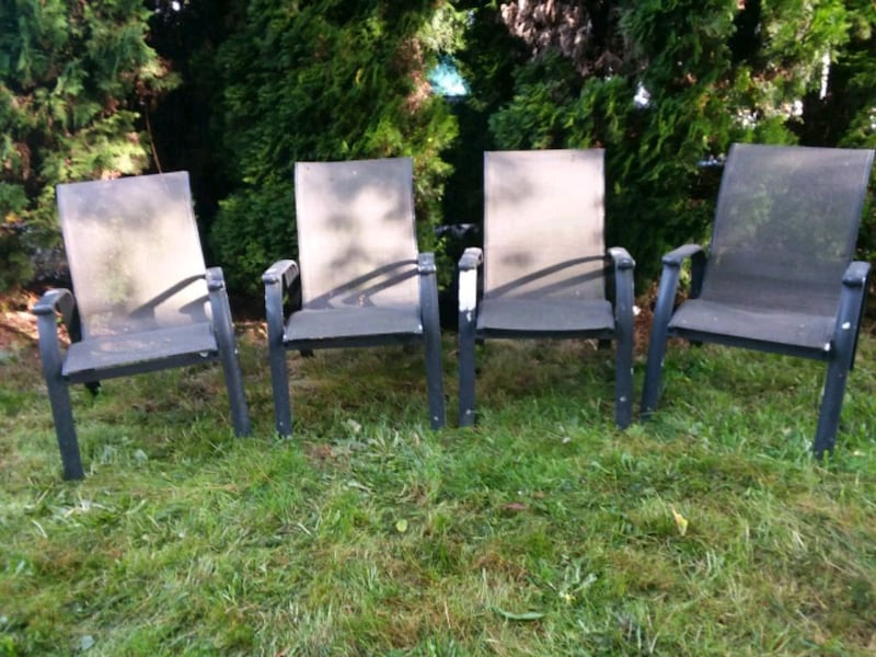 Sold Lawn Chairs Aluminum Frame In