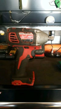 red and black Milwaukee cordless drill Edmonton