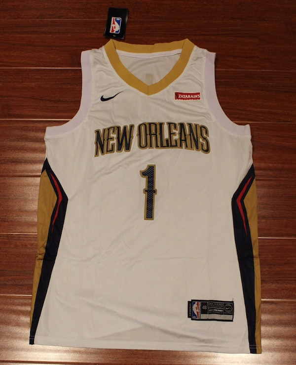 Zion Williamson New Orleans Pelicans Jersey