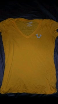 yellow true religion shirt Hamilton, L8E 5C5