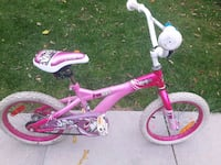 toddler's pink and white bicycle Winnipeg, R3N 1S4