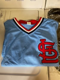 2 Light Blue Cardinals Jerseys from Busch Stadium Las Vegas, 89117