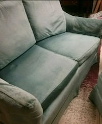 3 pce Soft green Loveseat, Chair, Ottoman Saskatoon, S7J 1X2