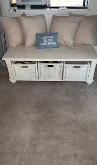 Oversized Coffee Table with Storage