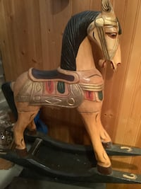 Decorative rocking horse Ajax, L1T 1X8