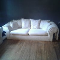2 white 3 seat sofas no offer refused Windsor, N9C 3H9