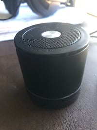 black and gray portable speaker 1153 mi