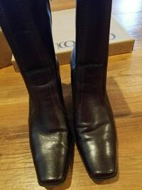 Franco Sarto 7.5 Brown Mid-calf Boots