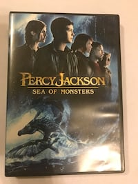 Percy Jackson Sea of Monsters DVD case
