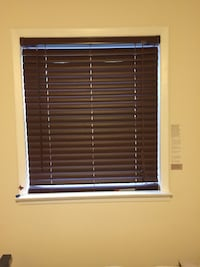 35.6 by 40.5inch Faux wood blinds Northport, 11768