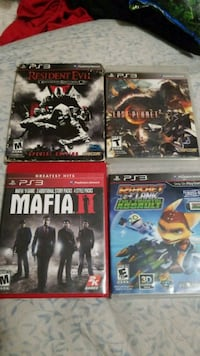 4 PS3 games and 1 metal case Cottonwood, 96022