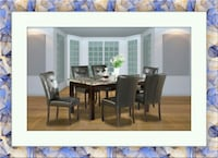 5pc dining table with 4 chairs free delivery  Gaithersburg