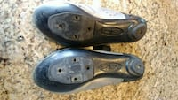 Black and grey SIDI road shoes.  Great shape Sparrows Point, 21219