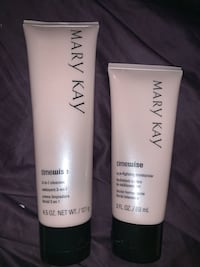 Mary Kay Timewise 3-in-1 Cleanser, Age Fighting Moisturizer