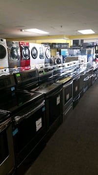 New scratch and dent electric stoves  Randallstown