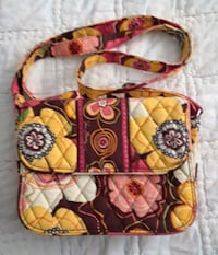 Vera Bradley YL/BR Purse Fairfield, 45014