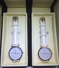 Daniel Wellington 32mm Watch White Leather Toronto