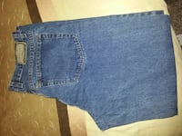 Arizona relaxed fit blue denim jeans null