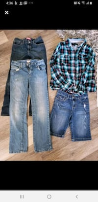 Size 10-12 year old girl excellent condition lot Calgary, T3K 6E8