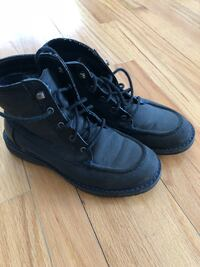 Boys nautical black boots size 3 excellent condition Chicago, 60656
