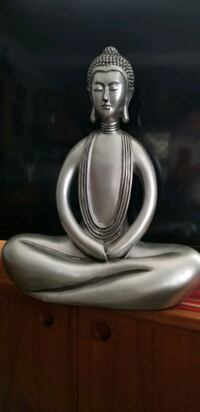 Silver statue 2 ft tall