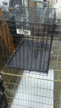 24 inch long steel foldable pet cage Chicago, 60623