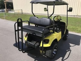 Gas golf cart 4-seater txt® in excellent condition